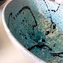 'Ritagli di Mare' bowl diam. cm.40