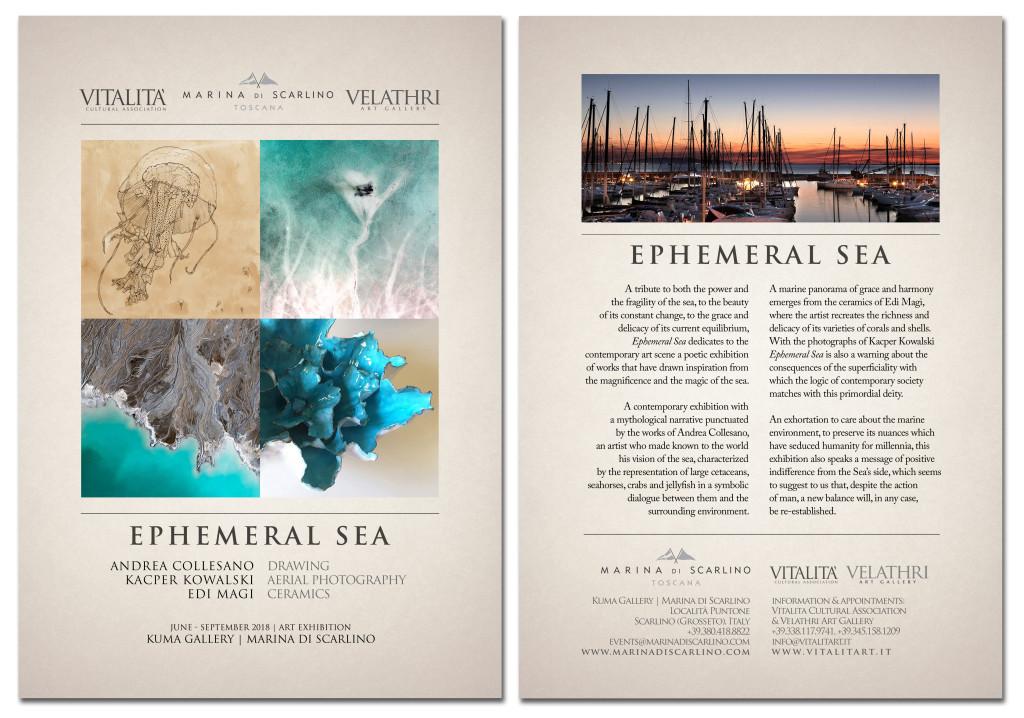 depliant A5 ephemenral sea
