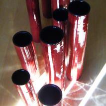 'Giochi in Rosso', sun reflexions at 10 am :-)